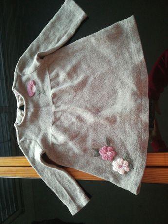 Vestido Zara baby girls 2/3 anos