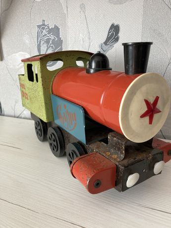 Паровоз/поезд игрушечный СССР