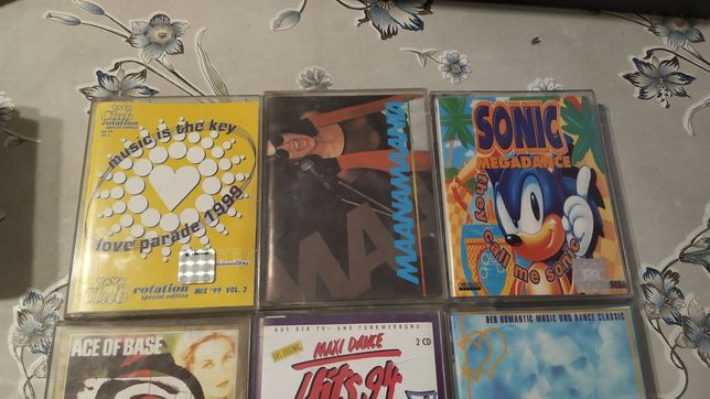9 zestaw kaset magnetofonowych