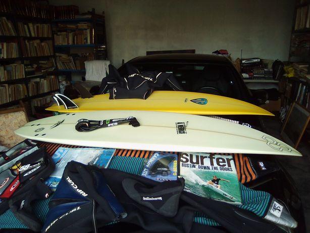 SURF, Material, pranchas,fatos, finos, etc
