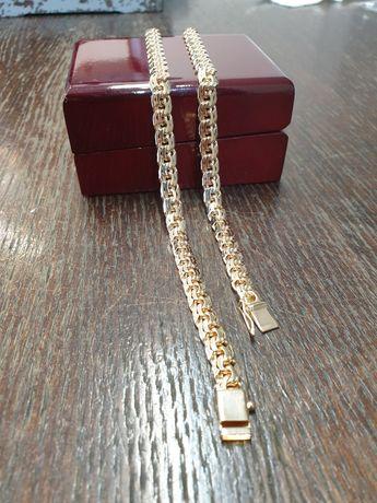 Łańcuszek złoty pr.585 waga 60gr wzór galibardi