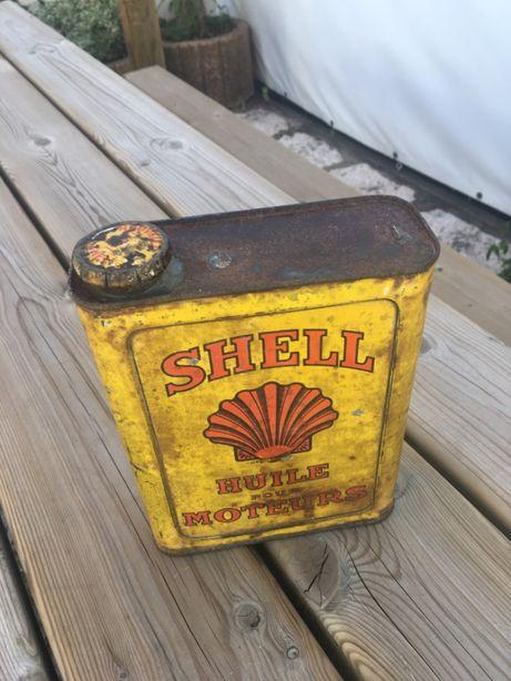 lata oleo Shell