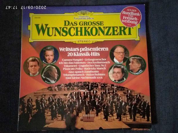 Płyta winylowa orkiestra światowe przeboje, muzyka poważna - Luboń