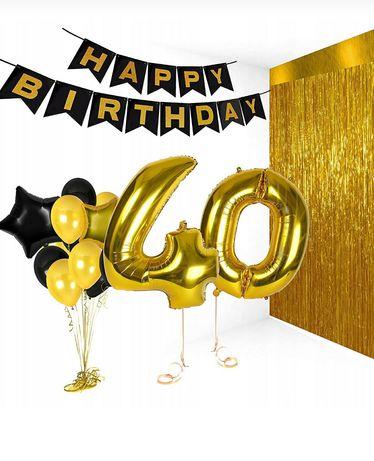 Balony na hel urodziny cyfry 1-9 100cm.