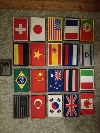Bandeiras patchs airsoft