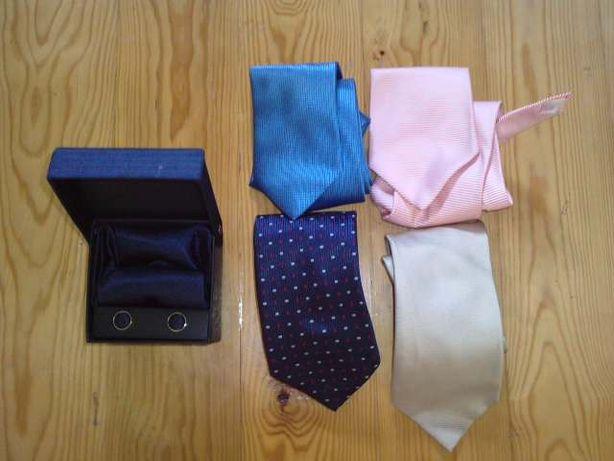 conjunto de gravatas, portes incluídos