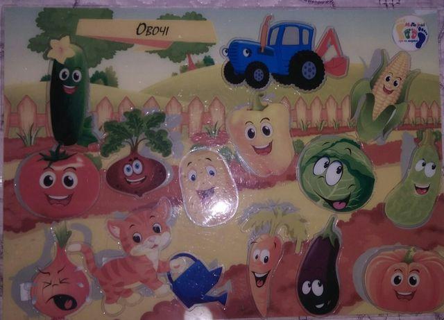 Гран на ліпучках, розвиток дитини, МаПаГрай, синий трактор