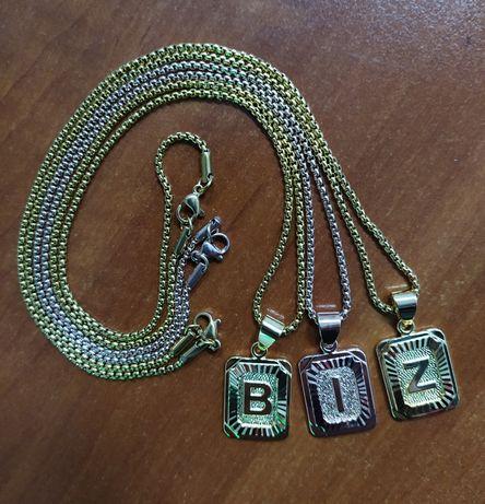 Ожерелье Чокер Именной B, Z, I