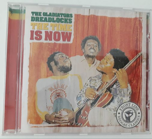 CD The Gladiators Dreadlocks - The Time Is Now