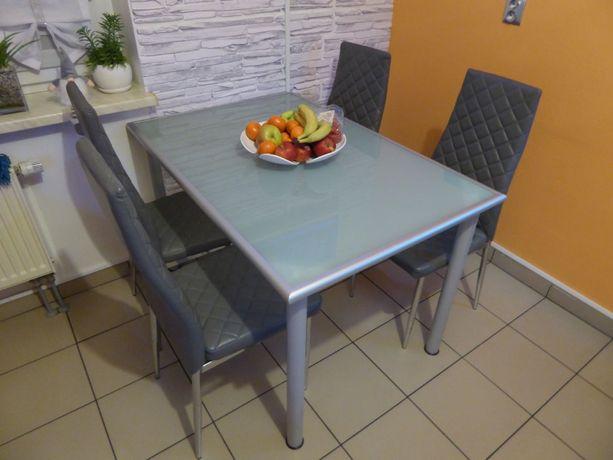 Stół IKEA + cztery krzesła + Gratis Transport Gliwice