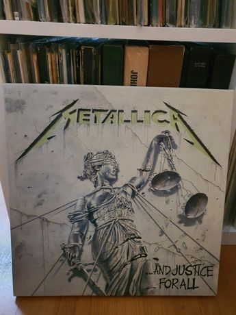 Box vinil Metallica Justice for all Faster 4 discos