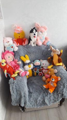 Бесплатно! м'які іграшки, зайчики мишки