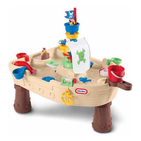 Игровой столик песочница  Little tikes Пиратский корабль (628566E3)