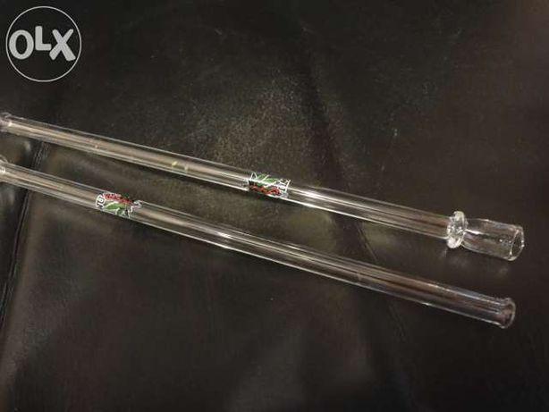 Lufa szklana 20cm z hartowanego szkla