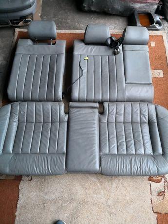 Siedzenia skóra szara Audi a6 c5