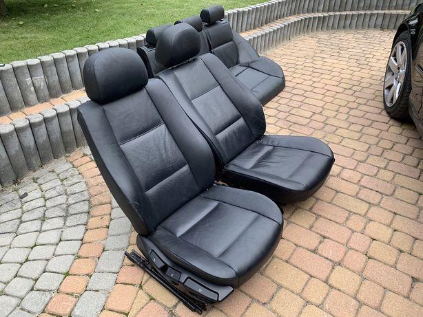 Fotele BMW e46 touring kombi / skórzane