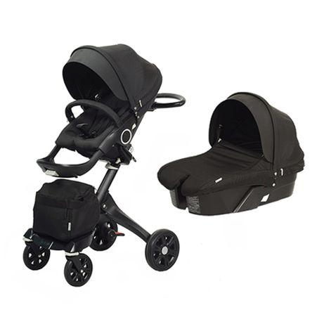 Новая Детская коляска dsland xplory v6 2в1 и 3в1 черный stokke