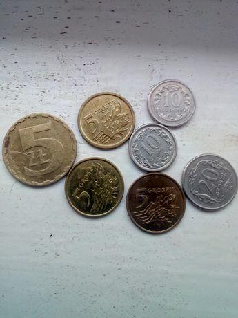 Продам польские монетки