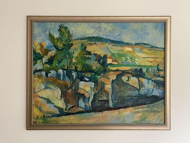 2 Obrazy ręcznie malowane