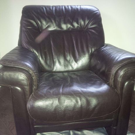 Шкіряне крісло кожаное кресло