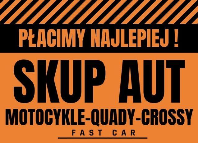 AUTO SKUP aut, samochodów, motocykli, katalizatorów, złomowanie