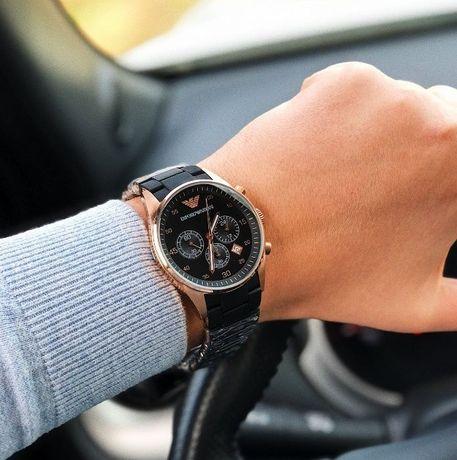 Emporio Armani AR 5905 часы хронограф ААА класса