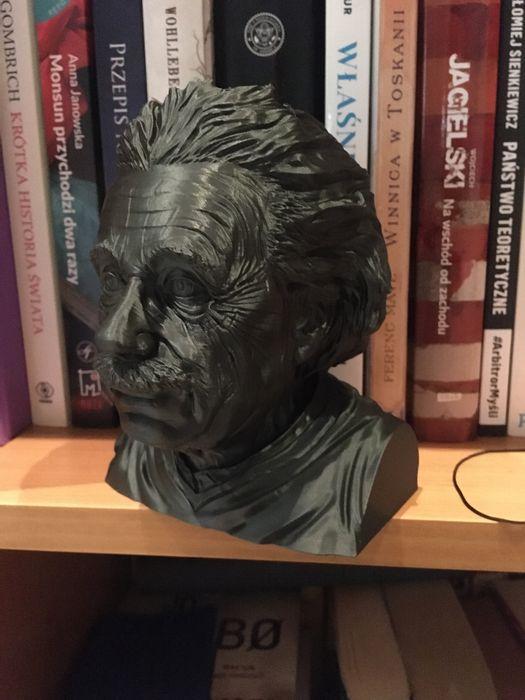 Popiersie Alberta Einsteina (wydruk 3D FDM) Puszczykowo - image 1