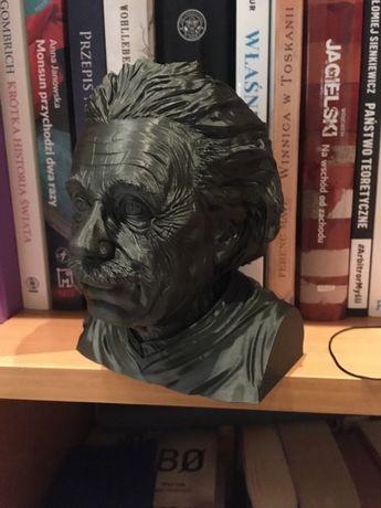 Popiersie Alberta Einsteina (wydruk 3D FDM)