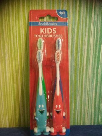 Brush Buddies, Smart Care, детская зубная щетка, 4 шт
