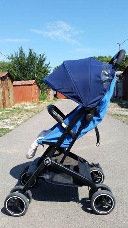 Детская коляска GB Qbit+ (цвет темно-синий/синий)
