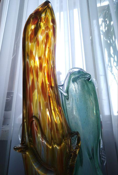 Szkło artystyczne PRL forma szklana rzeźba **rezerwacja** Bolesław - image 1