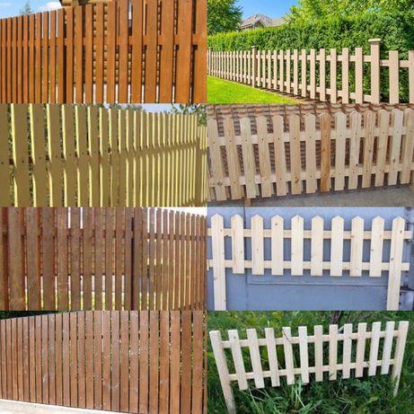 Забор из дерева, штакетник, заборчик, ограда, оградка,деревянный забор