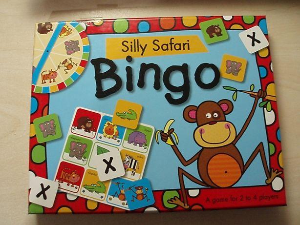 Настольная игра бинго, лото Bingo Silly Safari новое