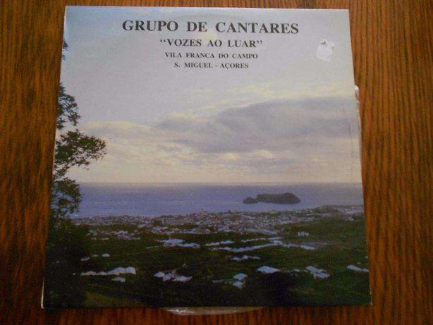"""Grupo de Cantares """"Vozes ao Luar"""" - Disco de Vinil"""