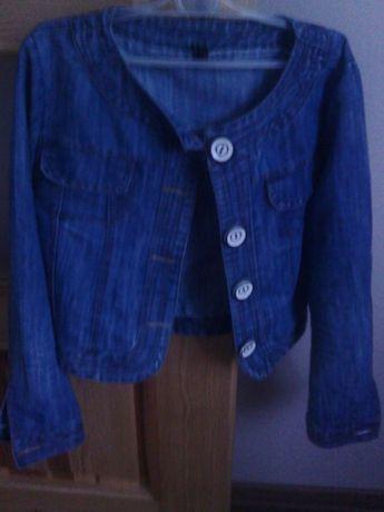 Jeansowa kurteczka xl