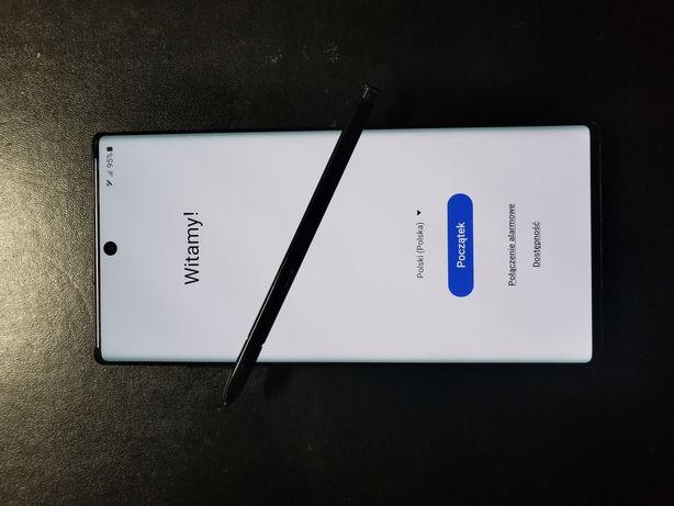 Samsung Galaxy Note 10 plus, 12/256 jak nowy, gwarancja.