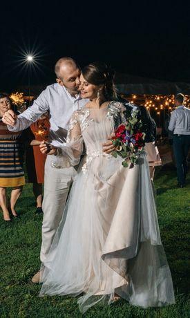 Плаття весільне весільна сукня свадебное платье стиль Бохо
