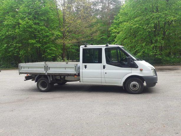Ford Transit Doka7-Os, Bliźniak, Salon PL,1-Wlaść,Org Przebieg 123tyś