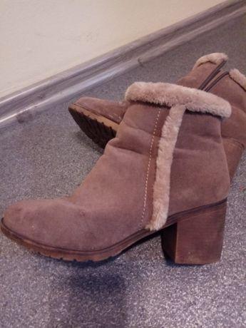buty zimowe damskie ocieplane r. 41