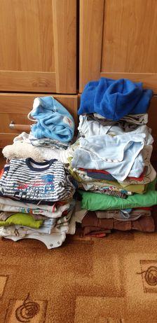 Zestaw ubrań dla chłopca do 1 roku