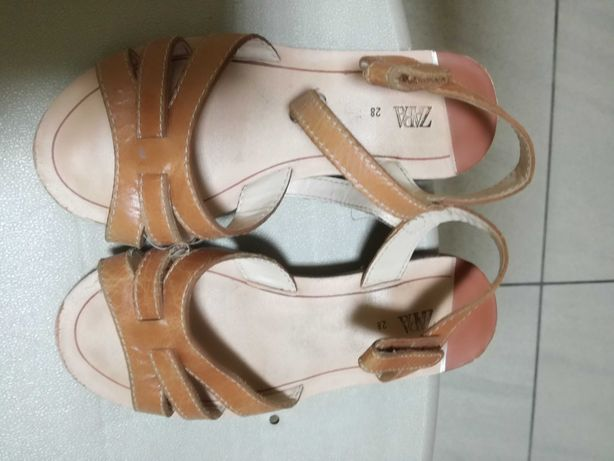 Buty sandalki dziewczynka zaraz 28