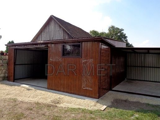Wiata Wiaty Hala Hale Garaż Garaże Profil Projekt DAR MET