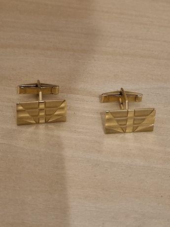 Złote spinki pr.585