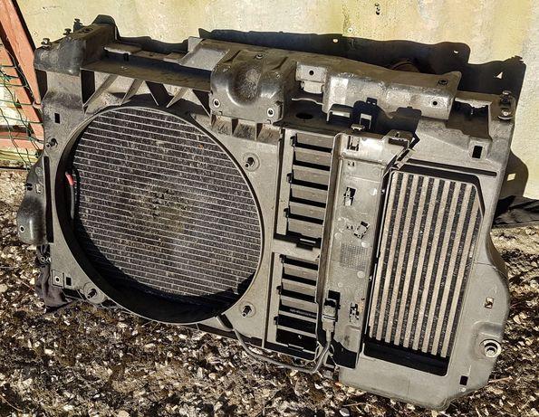 Frente em fibra peugeot 407 radiador ic