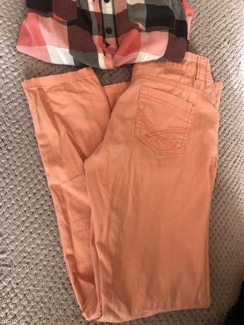 джинсы на девочку