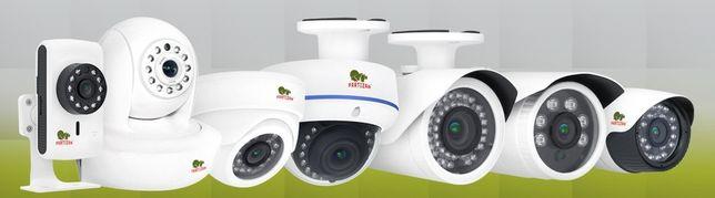 Установка, подключение и настройка систем видеонаблюдения