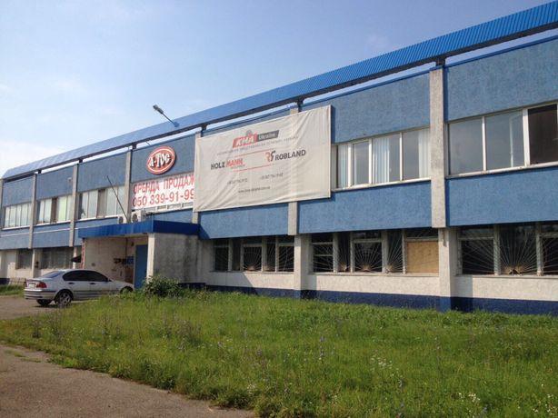 Продаж діючого виробничого приміщення 3000 м.кв біля луцької митниці