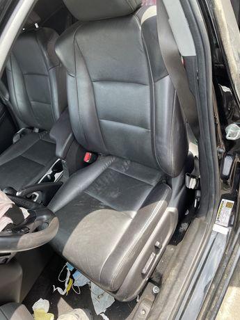 Acura ILX сидения, салон, потолок, подушка безопасности, шторка