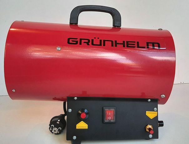 Тепловая газовая пушка 15 кВт, обогреватель газовый Grunhelm