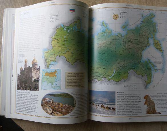Geografia świata album Pascal jak nowy piękne wydanie twarda oprawa